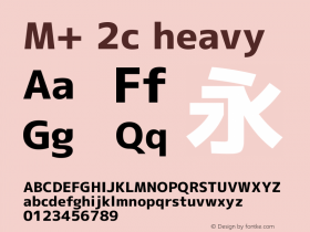 M+ 2c