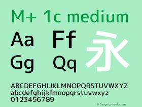 M+ 1c