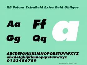 XB Futura ExtraBold