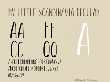 My little Scandinavia
