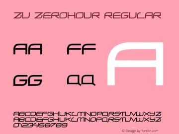 ZU ZeroHour