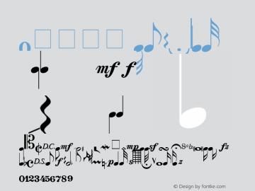 0音乐符号