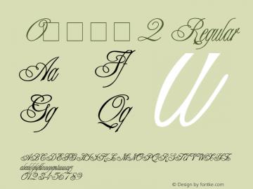 0花式字体2
