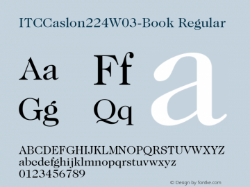ITCCaslon224W03-Book
