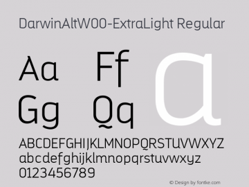 DarwinAltW00-ExtraLight