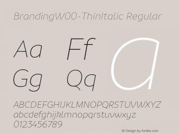 BrandingW00-ThinItalic
