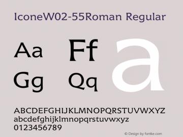 IconeW02-55Roman