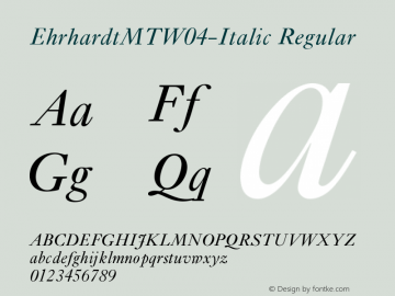 EhrhardtMTW04-Italic