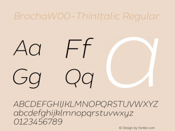 BrochaW00-ThinItalic
