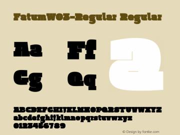 FatumW03-Regular