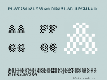 Flat10HolyW03-Regular