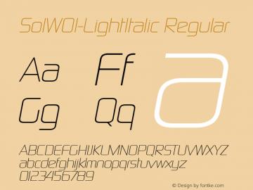 SolW01-LightItalic