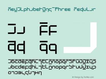 NewAlphabetW95-Three