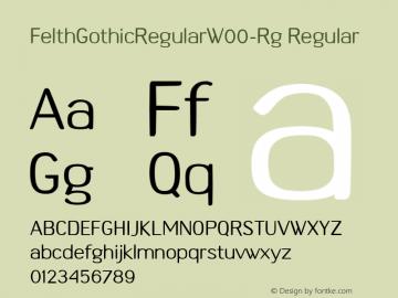 FelthGothicRegularW00-Rg