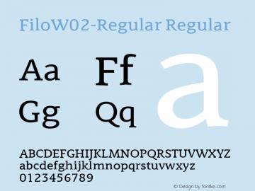 FiloW02-Regular