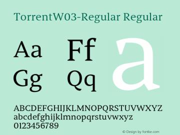 TorrentW03-Regular