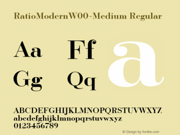 RatioModernW00-Medium