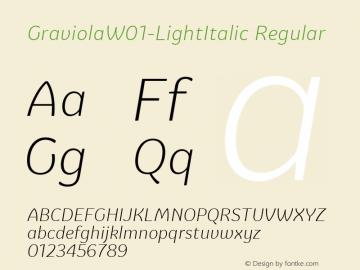 GraviolaW01-LightItalic