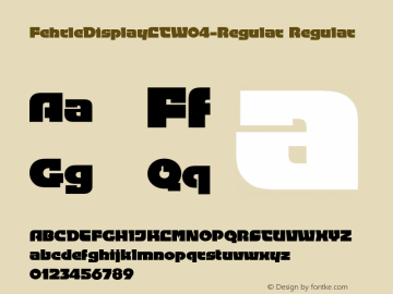 FehrleDisplayLTW04-Regular