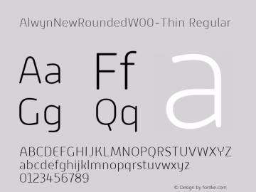 AlwynNewRoundedW00-Thin