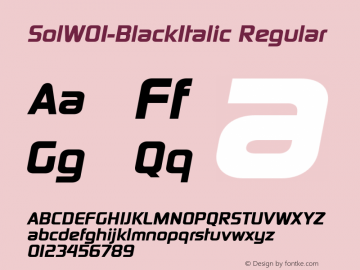 SolW01-BlackItalic