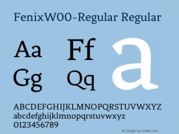 FenixW00-Regular
