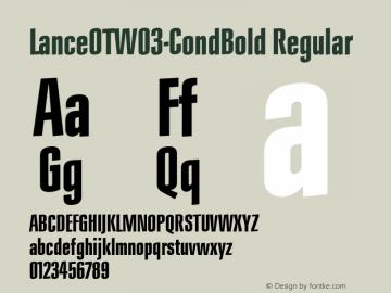 LanceOTW03-CondBold