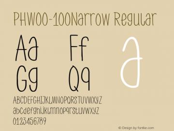 PHW00-100Narrow