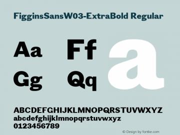 FigginsSansW03-ExtraBold