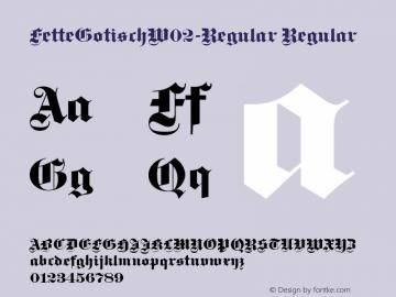 FetteGotischW02-Regular