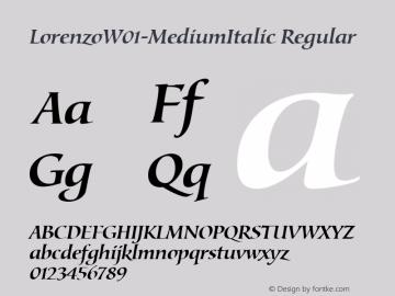 LorenzoW01-MediumItalic