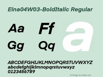 Eina04W03-BoldItalic