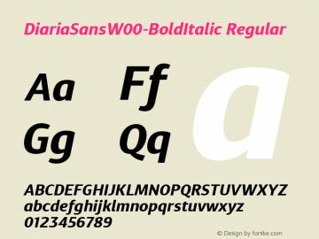 DiariaSansW00-BoldItalic
