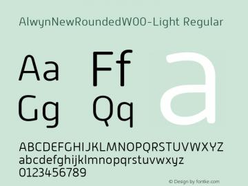 AlwynNewRoundedW00-Light