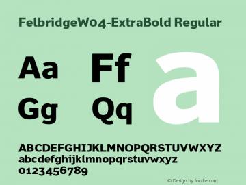 FelbridgeW04-ExtraBold