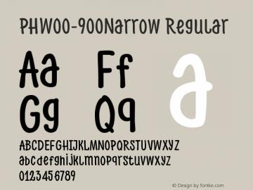 PHW00-900Narrow