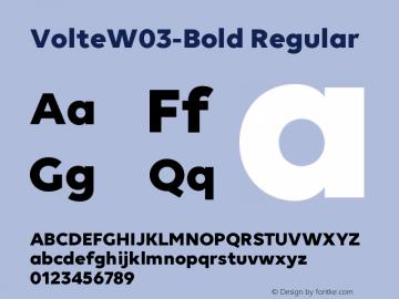VolteW03-Bold
