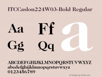 ITCCaslon224W03-Bold