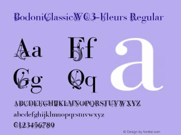 BodoniClassicW03-Fleurs