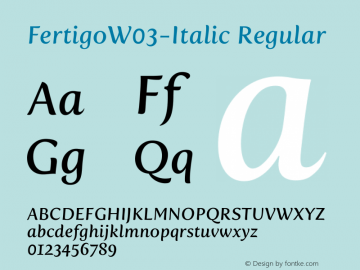 FertigoW03-Italic