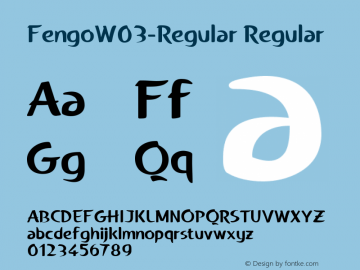 FengoW03-Regular