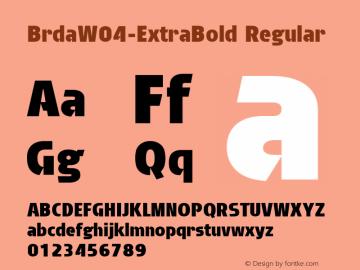 BrdaW04-ExtraBold