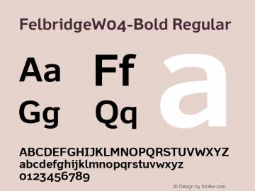 FelbridgeW04-Bold