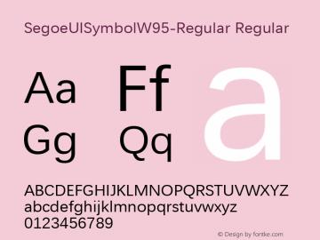 SegoeUISymbolW95-Regular