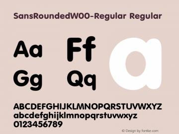SansRoundedW00-Regular