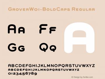 GroverW01-BoldCaps