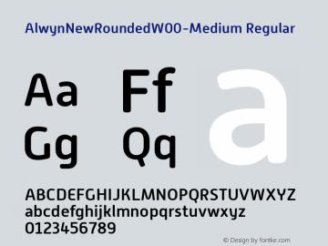 AlwynNewRoundedW00-Medium
