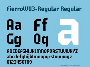 FierroW03-Regular