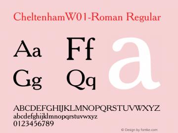 CheltenhamW01-Roman