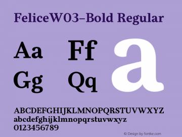 FeliceW03-Bold